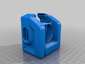 CR-10 / Ender Hotend Cover For 5015 Blower