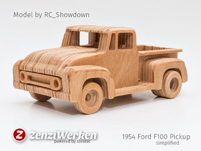 1954 Ford F100 Pickup simplified cnc