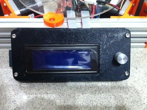 LCD controller mount