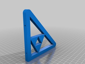 Zelda Triforce Shelf Support Bracket