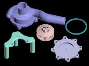 Centrifugal water pump - 15% bigger