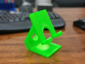 Angular Cell Phone Stand Holder
