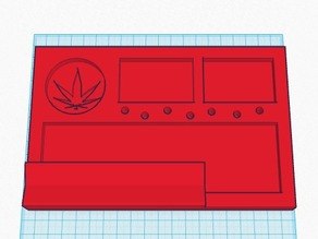 Rolling tray ( ADJUSTED VERSION )
