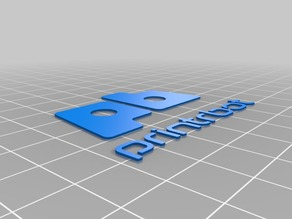 Printrbot Simple Pro Name Plate