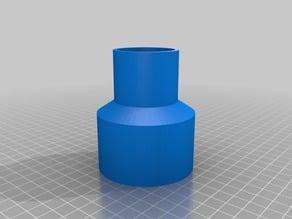 "Jet Oscillating Sander Shop Vacuum Adapter (2.5"" to 1.5"") - ver 2"
