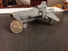 BSG Viper Mk II inspired from Kerbal Space program replica