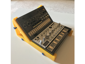 Dual Korg Volca stand (no nuts and bolts, snap fit assembly)