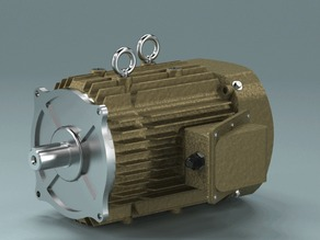Motor 1500/28 created in PARTsolutions
