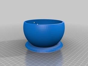 Spiral Yarn Bowl with Base
