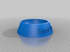 Customized Fully Parametric Dog Bowl for Pugmire