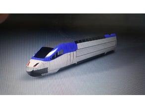 Korean train sancheon KTX/SRT