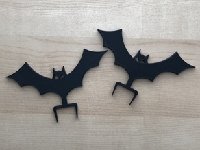Halloween Bat for 26mm/1in Cubicle Wall