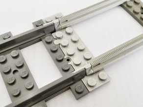 Lego Train Track Adapter