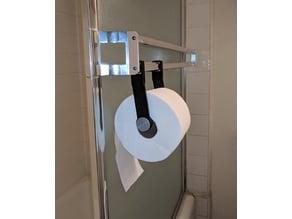 Toilet Paper Holder for Shower Door Towel Rack