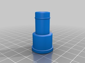 Hose adapter for Modular Hydroponic Tower Garden