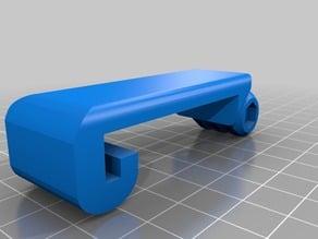 GoPro mount for FlashForge Dreamer 3D printer