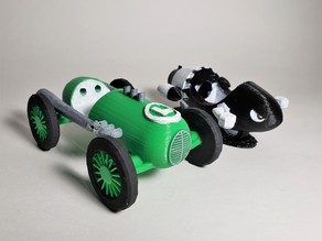 Mario Kart Luigi's Dragster & Bullet Bike Office Supplies