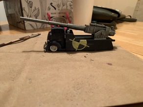 Cannon for Gaslands