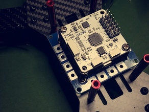 ZMR250 Drone CC3D and Power Distribution board mount
