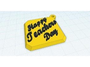 Key chain (Happy teachers Day)