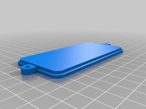 General 16x2 LCD Mount (only lcd, no buttons) back case