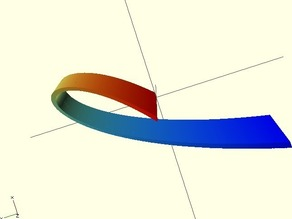 Bezier Ribbons 3D