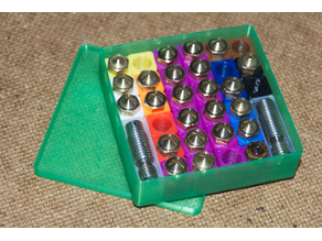 modular nozzle storage box
