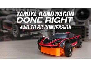 Tamiya 4WD to RC Conversion