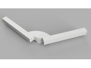 V-Dipole antenna bracket