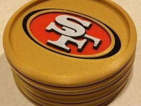 San Francisco 49ers Coaster