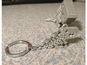 Flexi rexi keychain