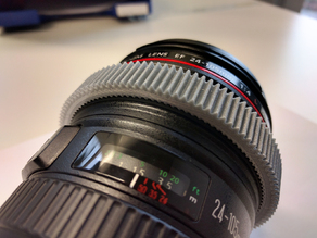 Follow Focus Gear Ring for Canon EF 24-105mm 1:4 L IS USM