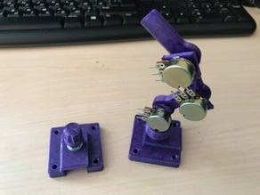 Joystick for robotic arm (potentiometer)