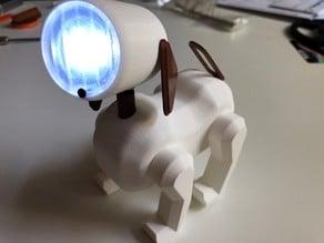 Dog LED lamp