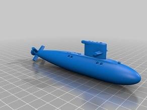 Walrus Class Submarine (Simplified)