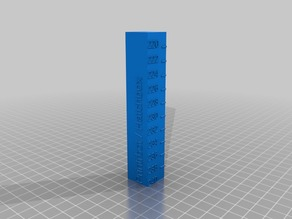 My Customized Temperature Calibration Tower