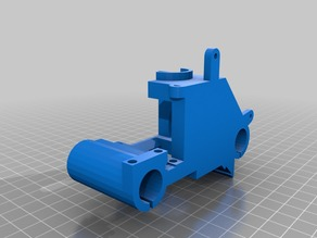 anet a6 x axis extruder final