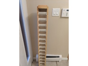 PVC Shop hardware organizer with 3D printed inserts