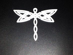Pendant - Celtic Dragonfly