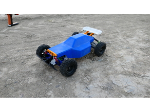 3D Printed RC Buggy: Version 2 (RWD)