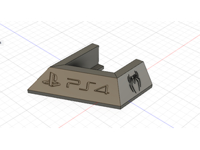 Playstation Vertical Stand- PS4 PRO spider edition