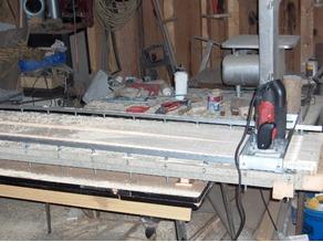 SKI wood core GRINDER MACHINE