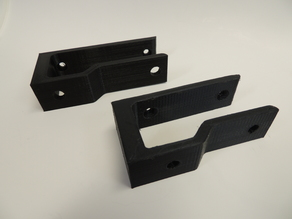 Keyboard Storage Clips -- Under shelf and behind monitor for Logitech K400, and generic