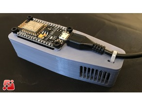 NodeMCU DHT11 Temperature + Humidity Sensor Enclosure