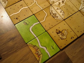 Carcassonne Tile Set