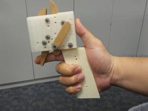 Crossbow trigger system.