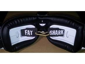 Fat Shark lens protectors with logos