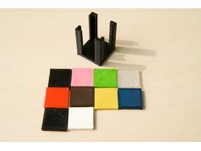Color palette template