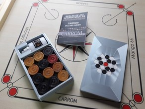 Carrom Storage Box