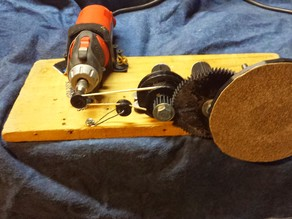 Rotary (Dremel) Powered Table/Disk Sander